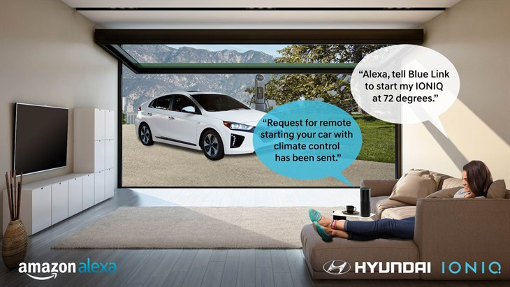 Hyundai Adds Blue Link Skill For Amazon Alexa