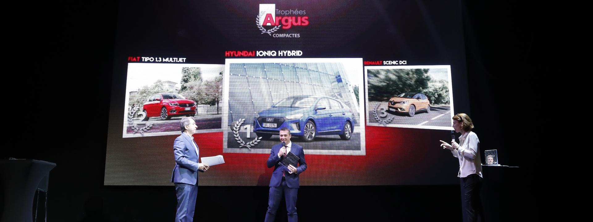 IONIQ Hybrid wins French Car of the Year Award