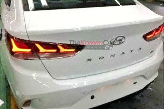 2018 Hyundai Sonata Leaked Picture