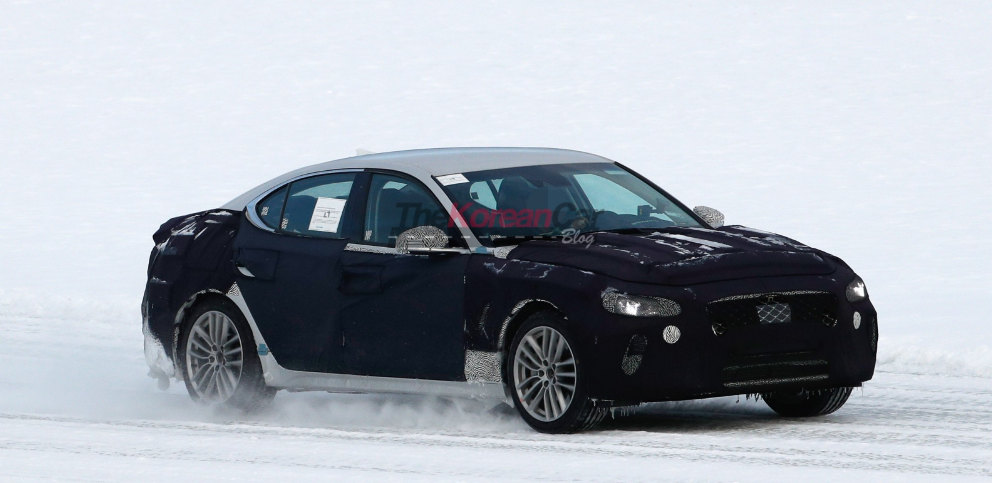 New Winter Testing Genesis G70 Spyshots!