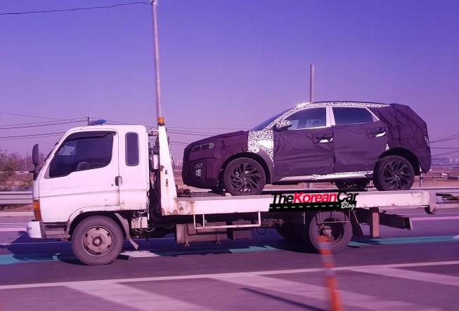 2018 Hyundai Tucson Facelift Spied
