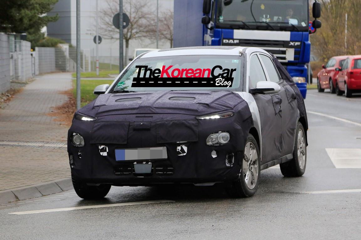 Hyundai KONA EV Spied Testing in Europe