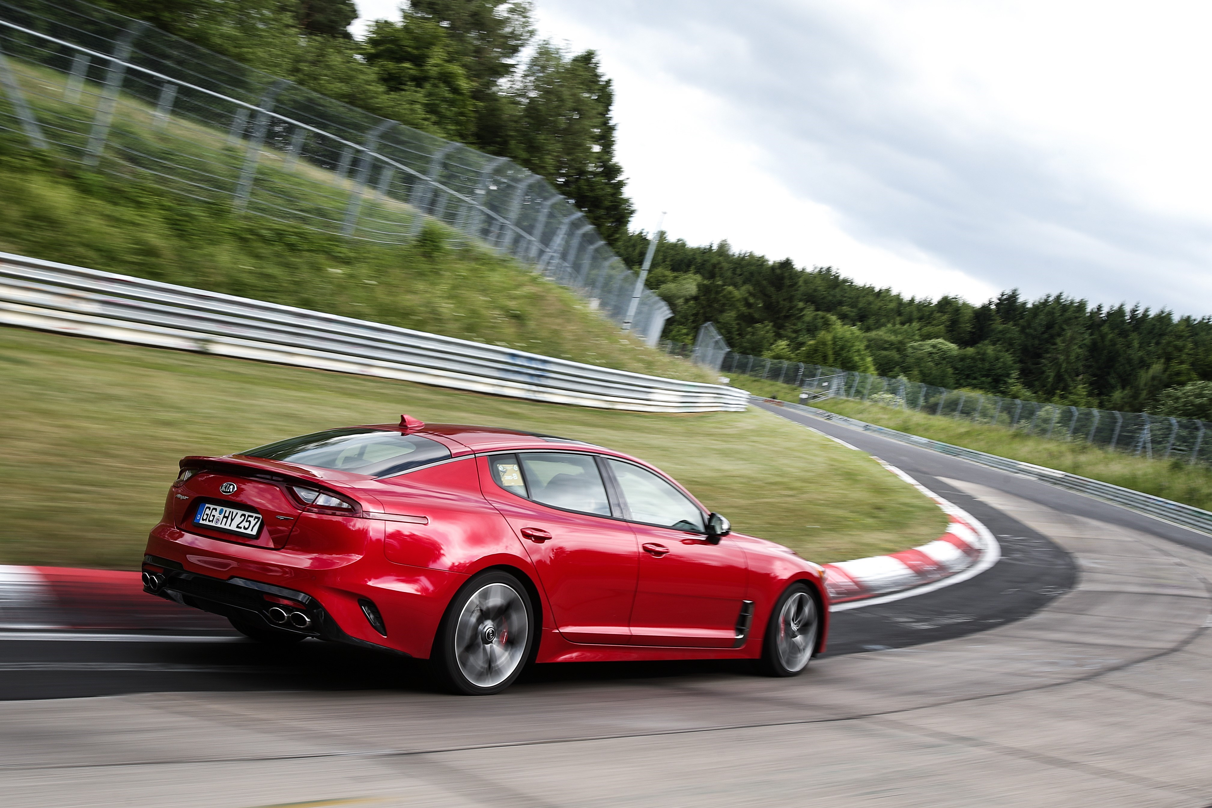Kia Stinger Named Finalist for 2018 North American Car of the Year