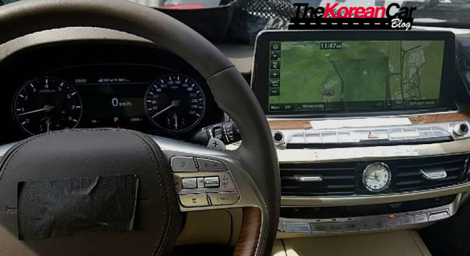 Scooped: 2019 Kia K9 Interior Revealed