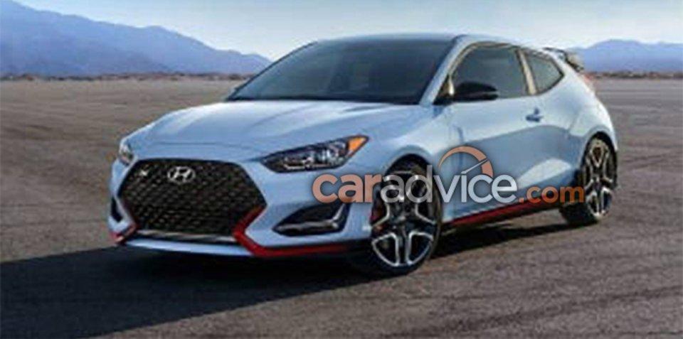 Hyundai Veloster N Leaked!