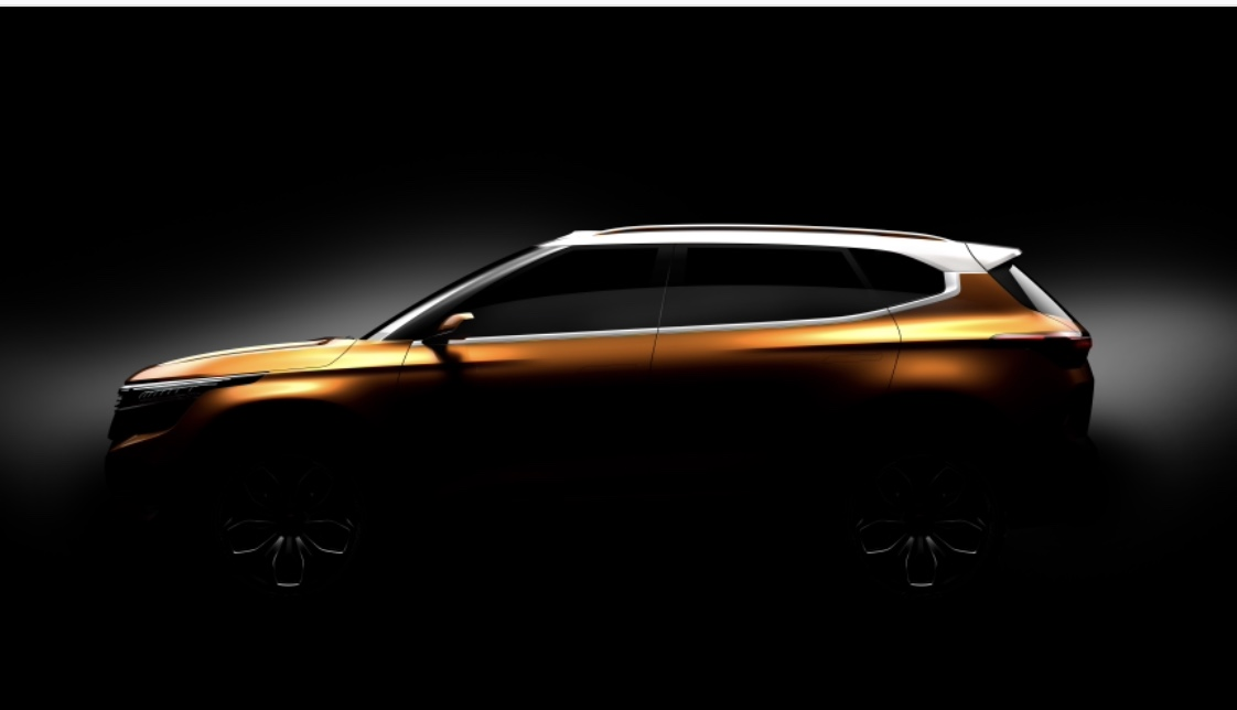 Kia Teases SP Concept SUV, Will Debut in India