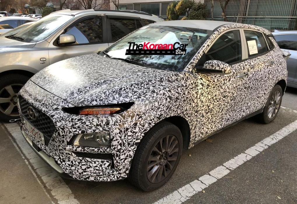 Mysterious Hyundai KONA Caught in South Korea