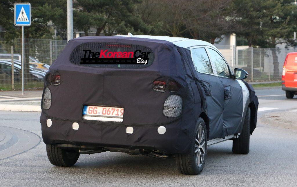 Hyundai Tuscon Facelift 12