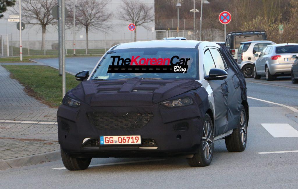 Hyundai Tuscon Facelift 2