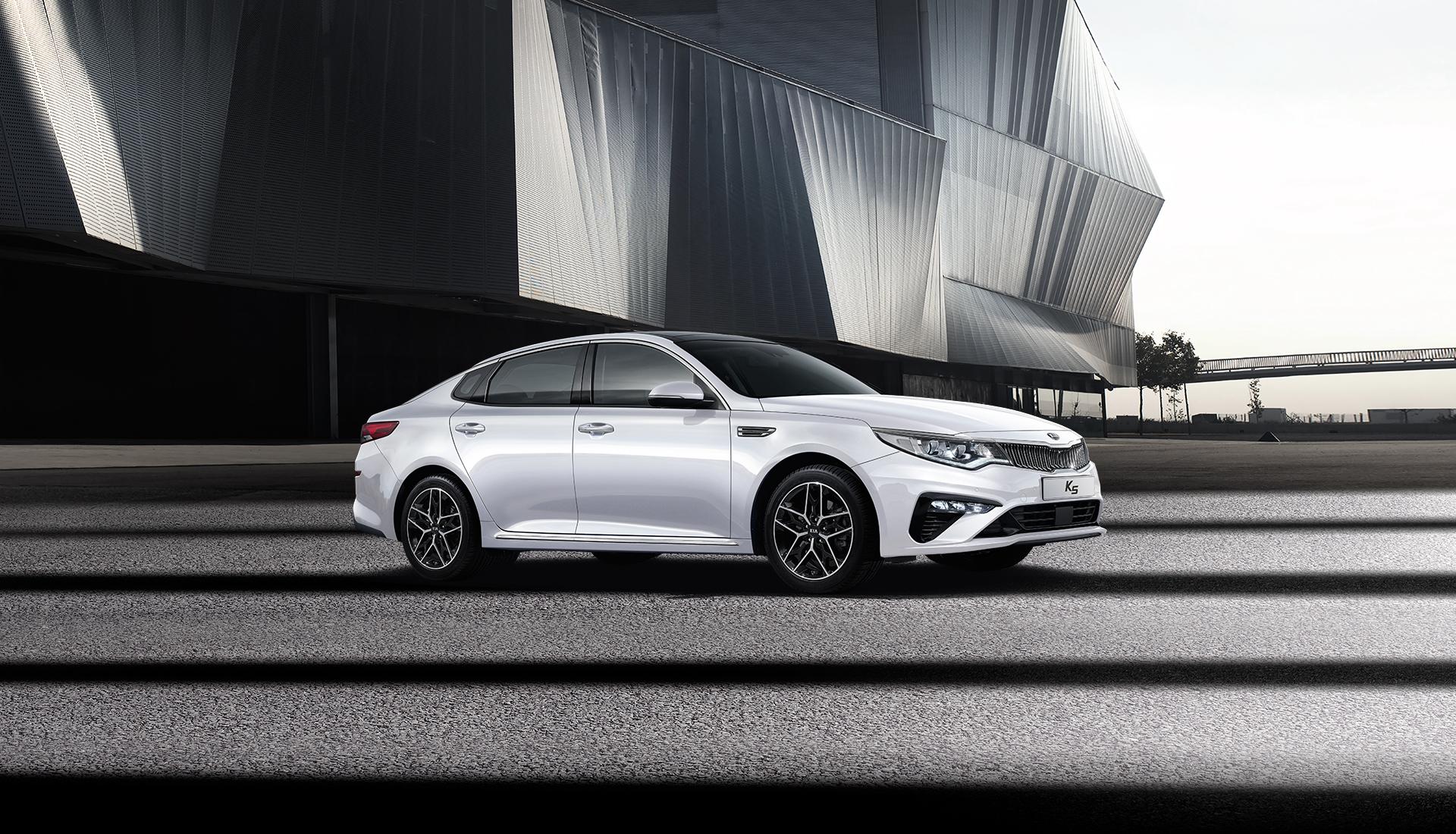 Kia Optima Facelift Revealed in South Korea