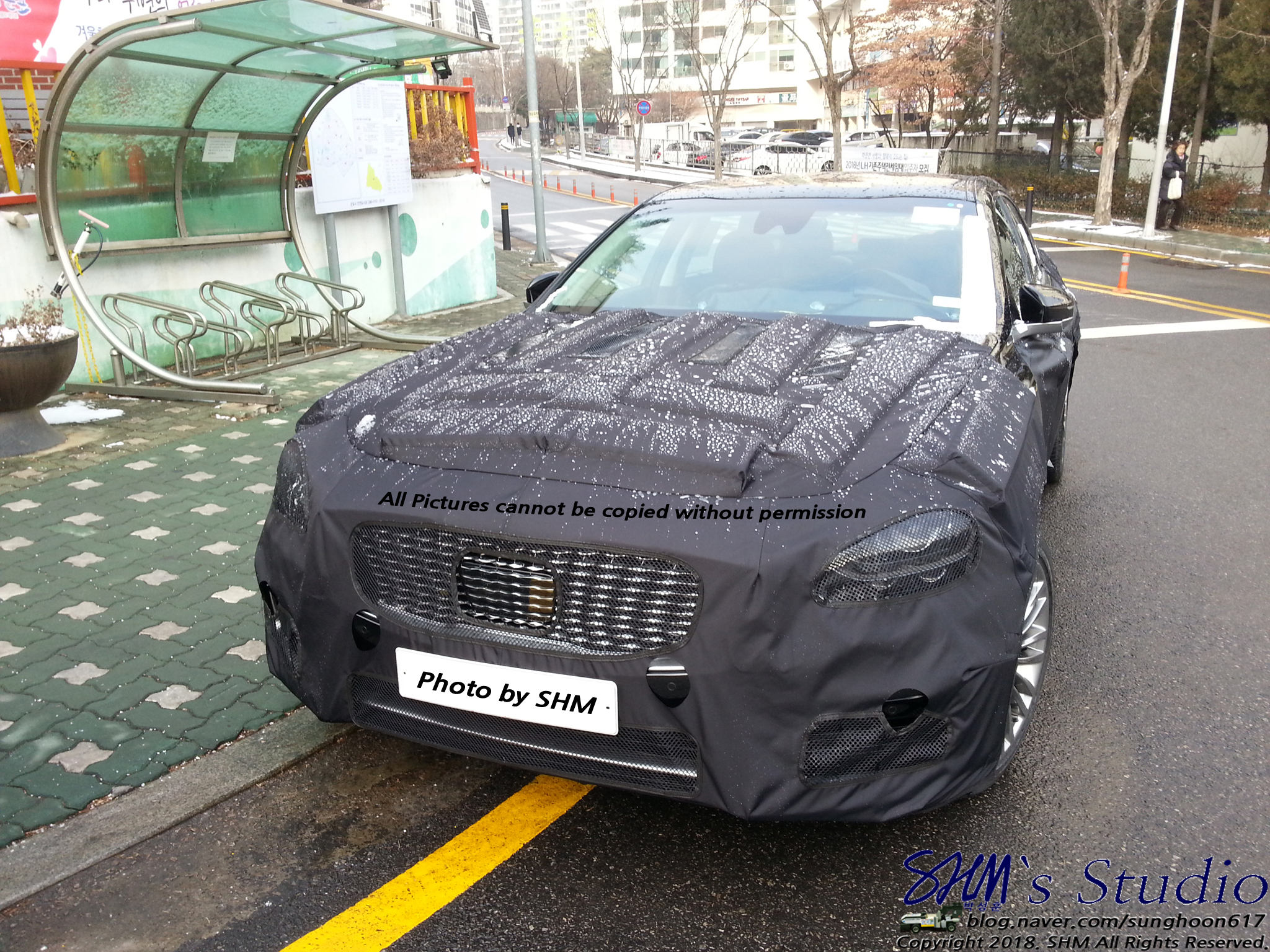 Kia K9 Spied Again in South Korea