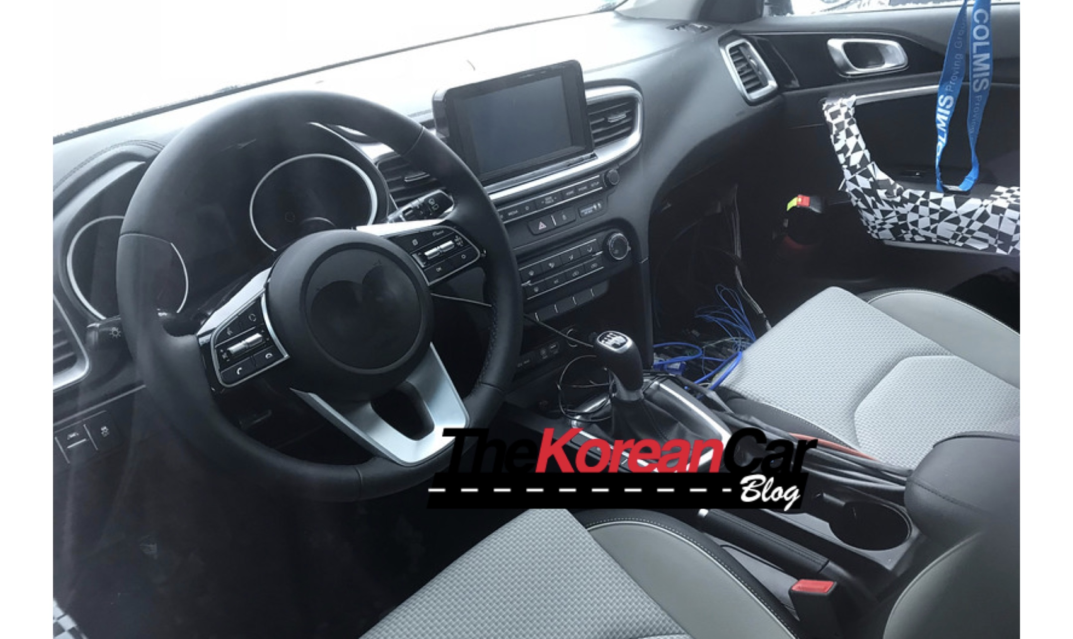 2018 Kia cee'd Interior Caught Undisguised