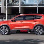 Hyundai Santa Fe spied new angles (2)