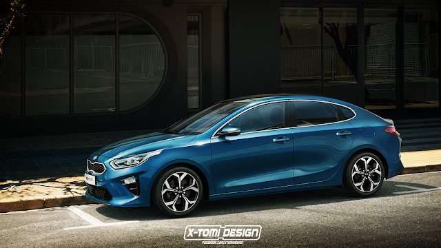 Kia Ceed Fastback Rendered
