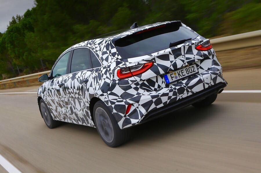 All-New Kia Ceed Prototype Test Drive