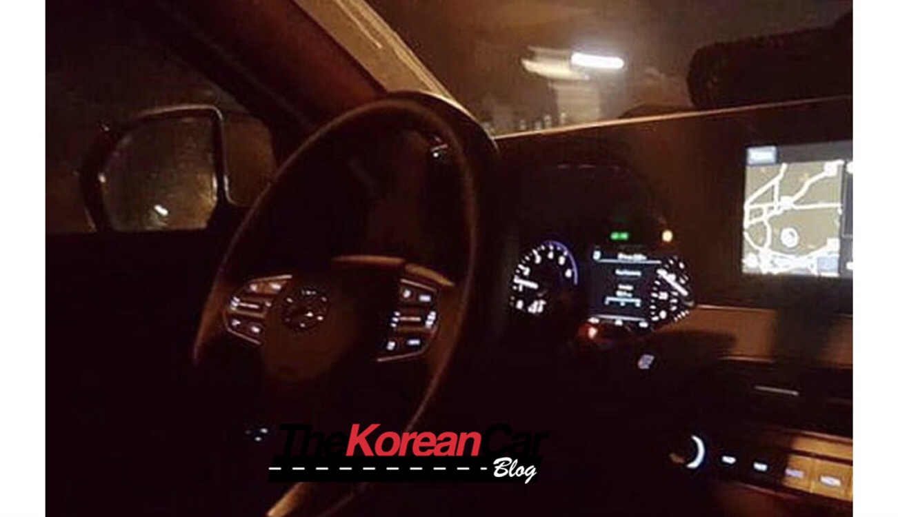 Next-Gen Hyundai Veracruz Spied Inside