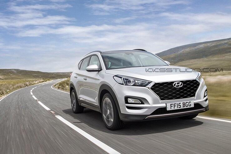 Hyundai Tucson Facelift Imagined