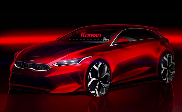 Kia cee'd Teaser Revealed Ahead Geneva