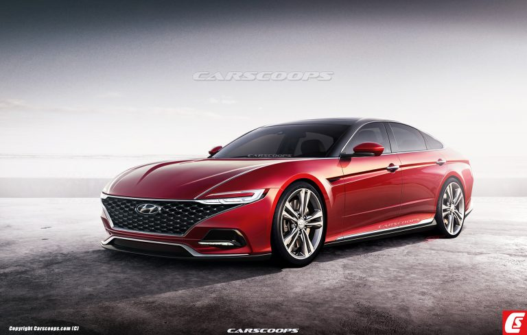 2020 Hyundai Sonata Imagined with Le Fil Rouge Concept in Mind
