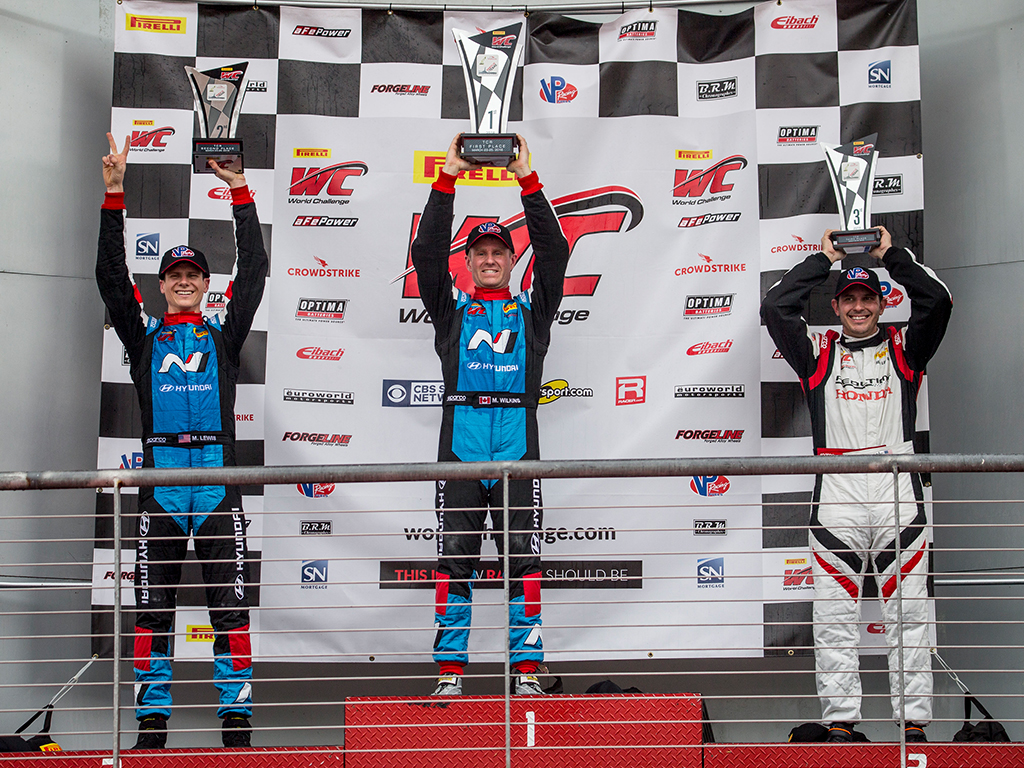 Hyundai Dominated TCR Class At Pirelli World Challenge