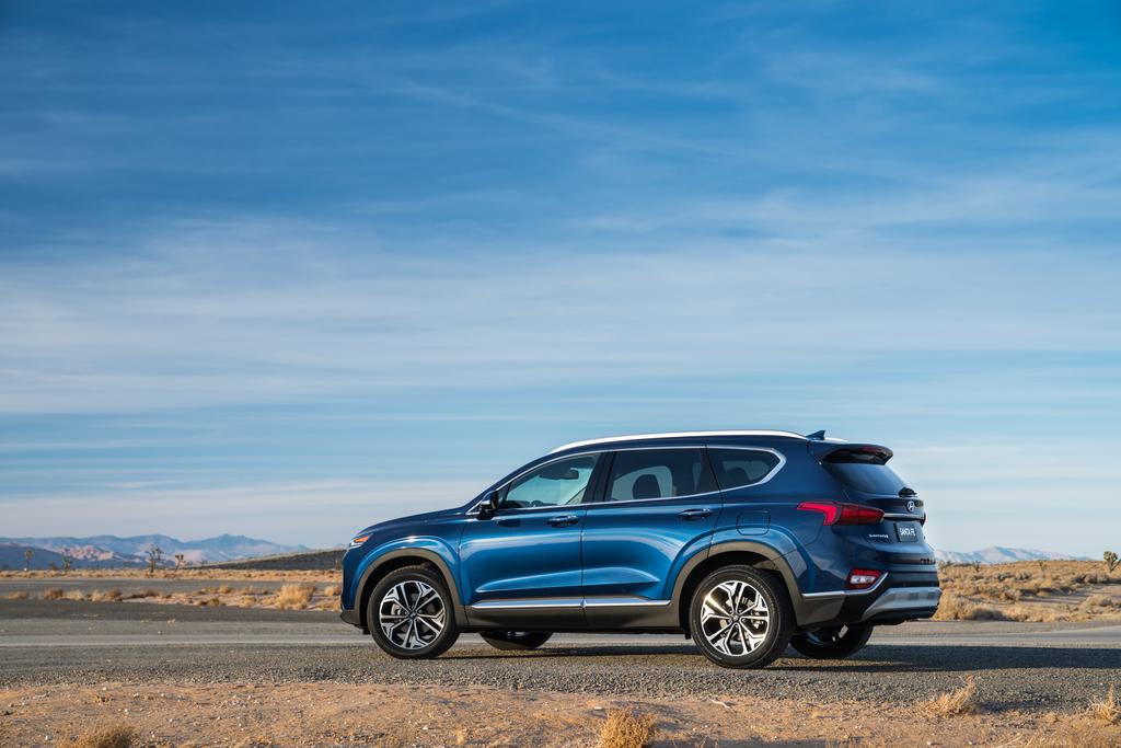 US-spec Hyundai Santa Fe Starting at $25,500
