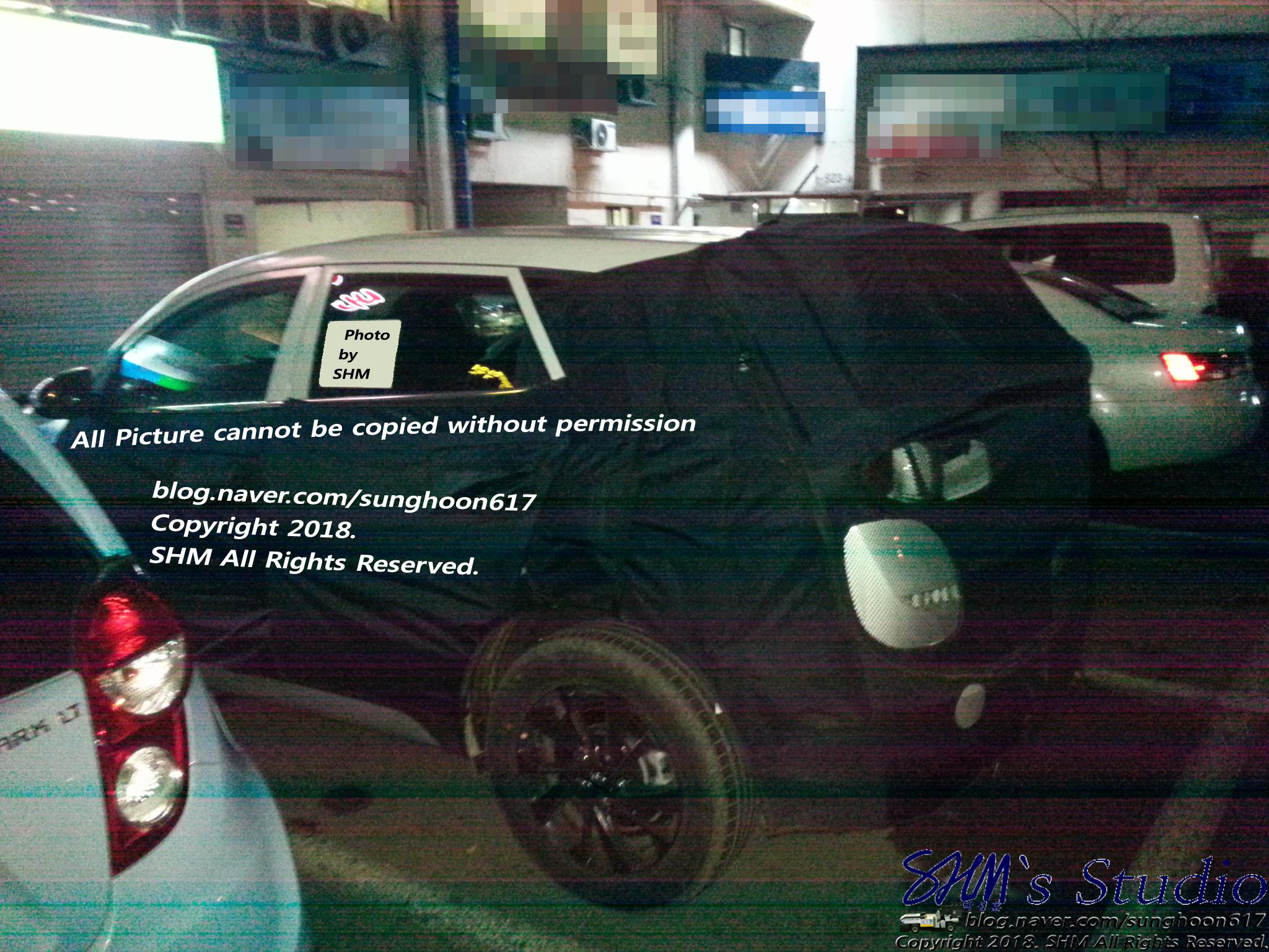 Hyundai Tucson Spied in South Korea