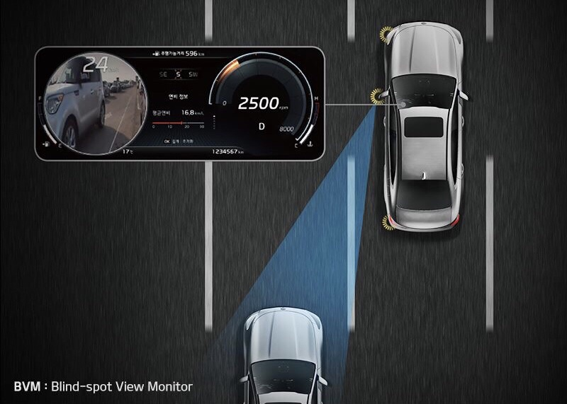 Kia K900 To Have New High-Tech Safety Features
