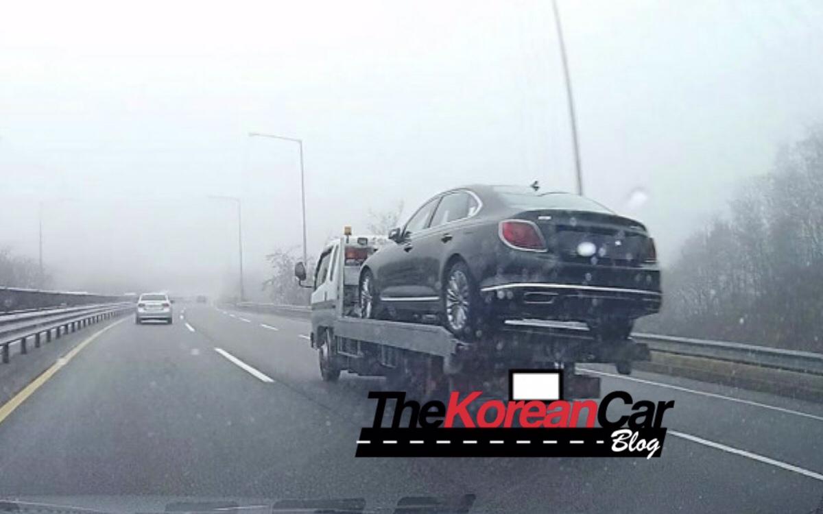 Kia K900 Leaked Undisguised