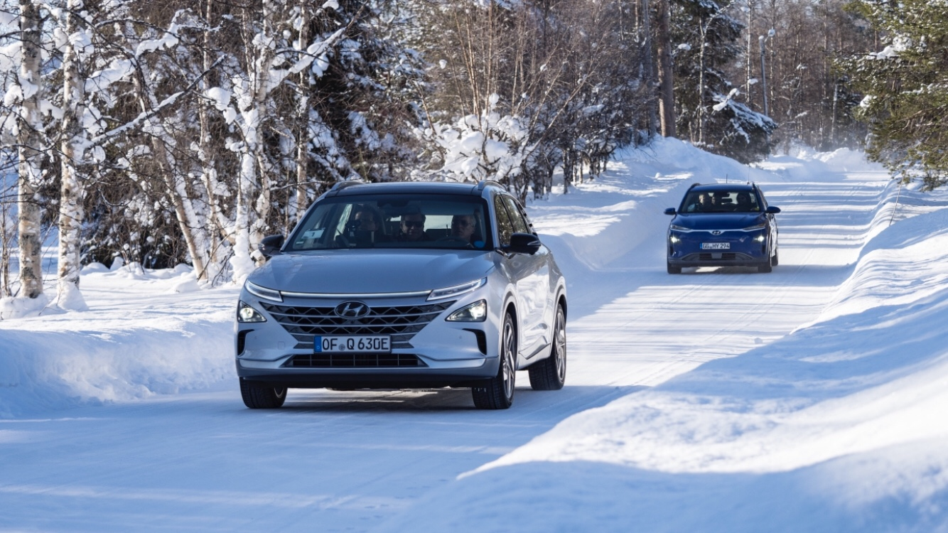 Look How Hyundai Test EVs on the Artic Circle