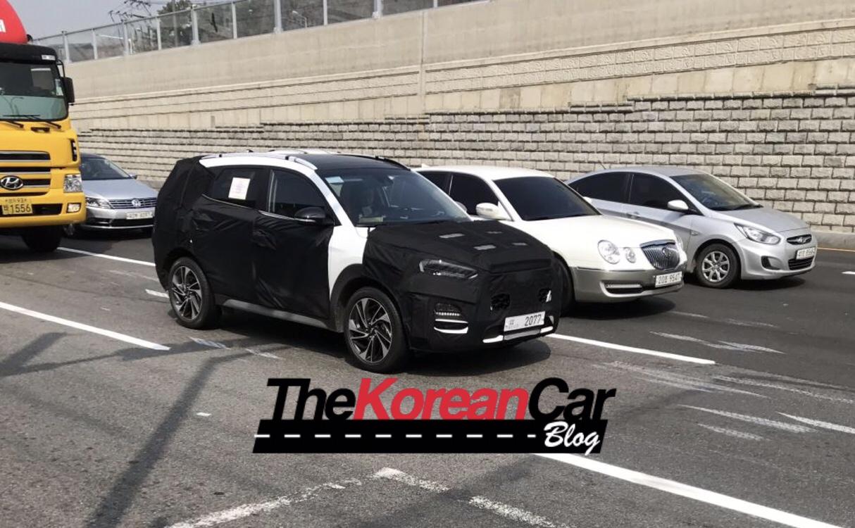 Hyundai Tucson Spied Ahead New York Debut