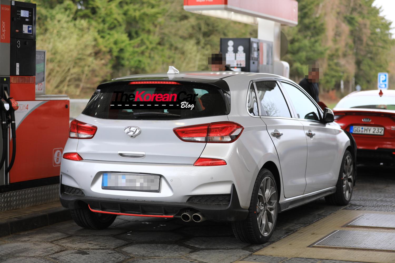 Hyundai i30 N-line Spied4