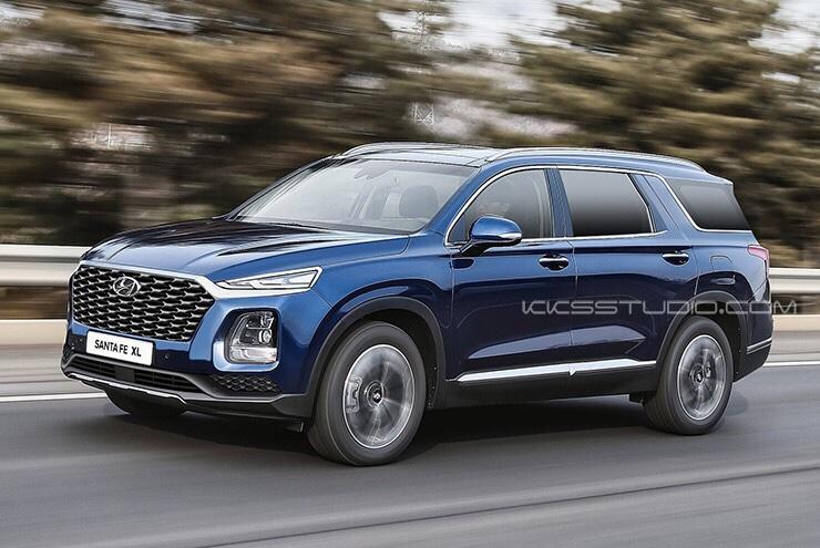 Hyundai Santa Fe XL Imagined