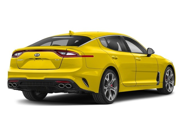 kia stinger yellow