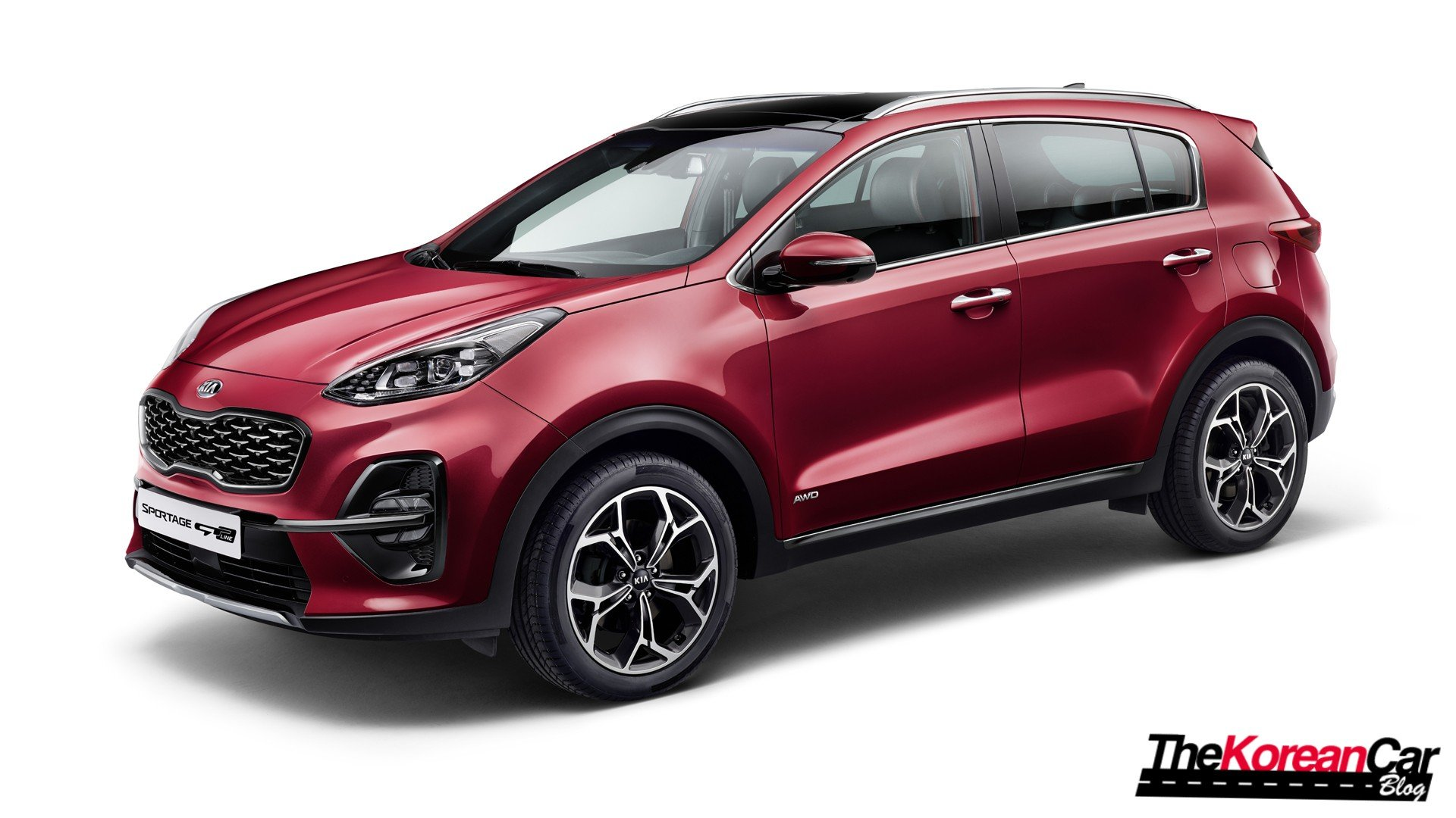 Kia Sportage Facelift unveiled with diesel mild-hybrid engine and new tech