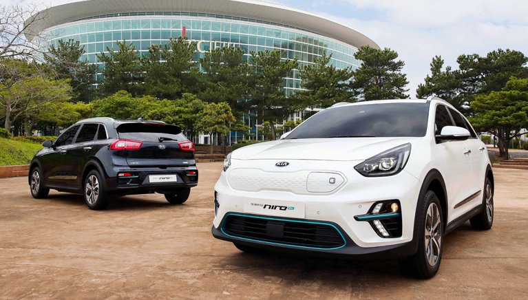 Kia Niro EV Revealed with 300 and 450 km of Range