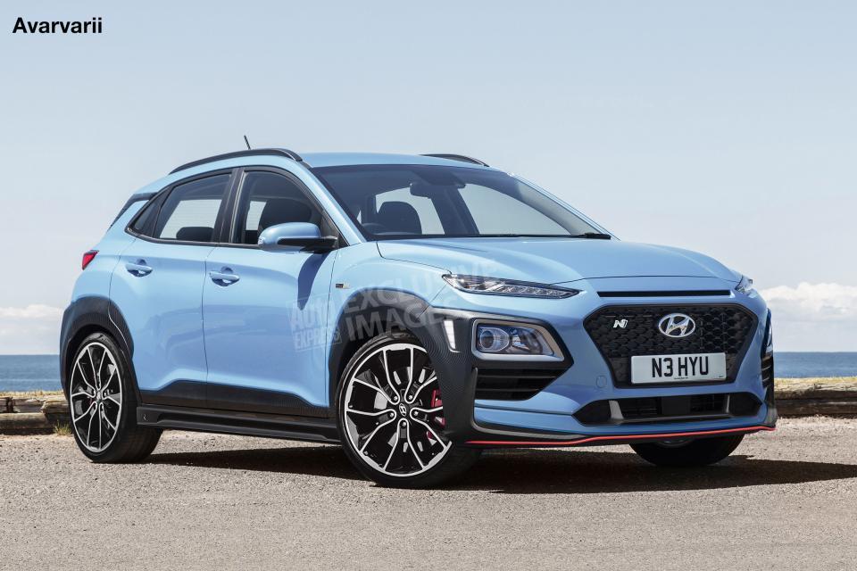 Hyundai Kona N Performance to Have 250 hp