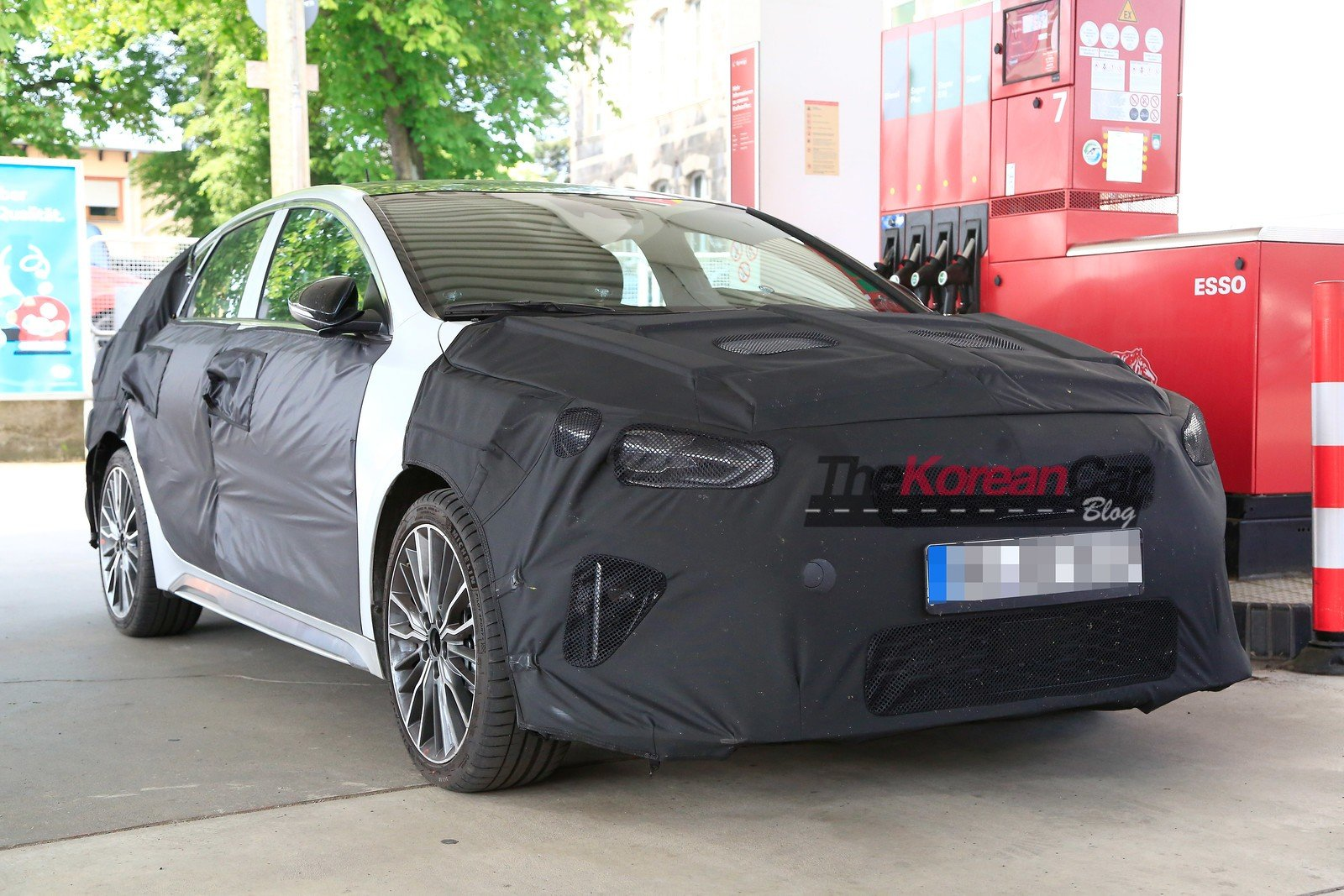 2019 Kia Ceed Shooting Brake spied for the first time
