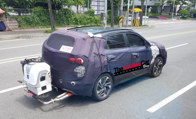 Hyundai Tucson Mild Hybrid Spied Testing