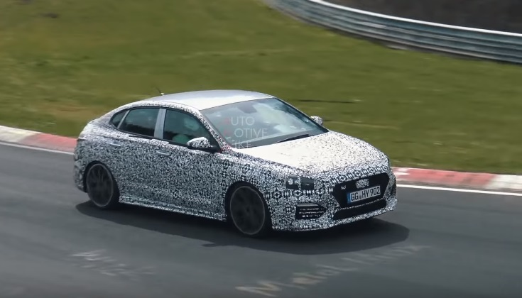 Video: Hyundai i30 N Fastback Spotted on the Ring