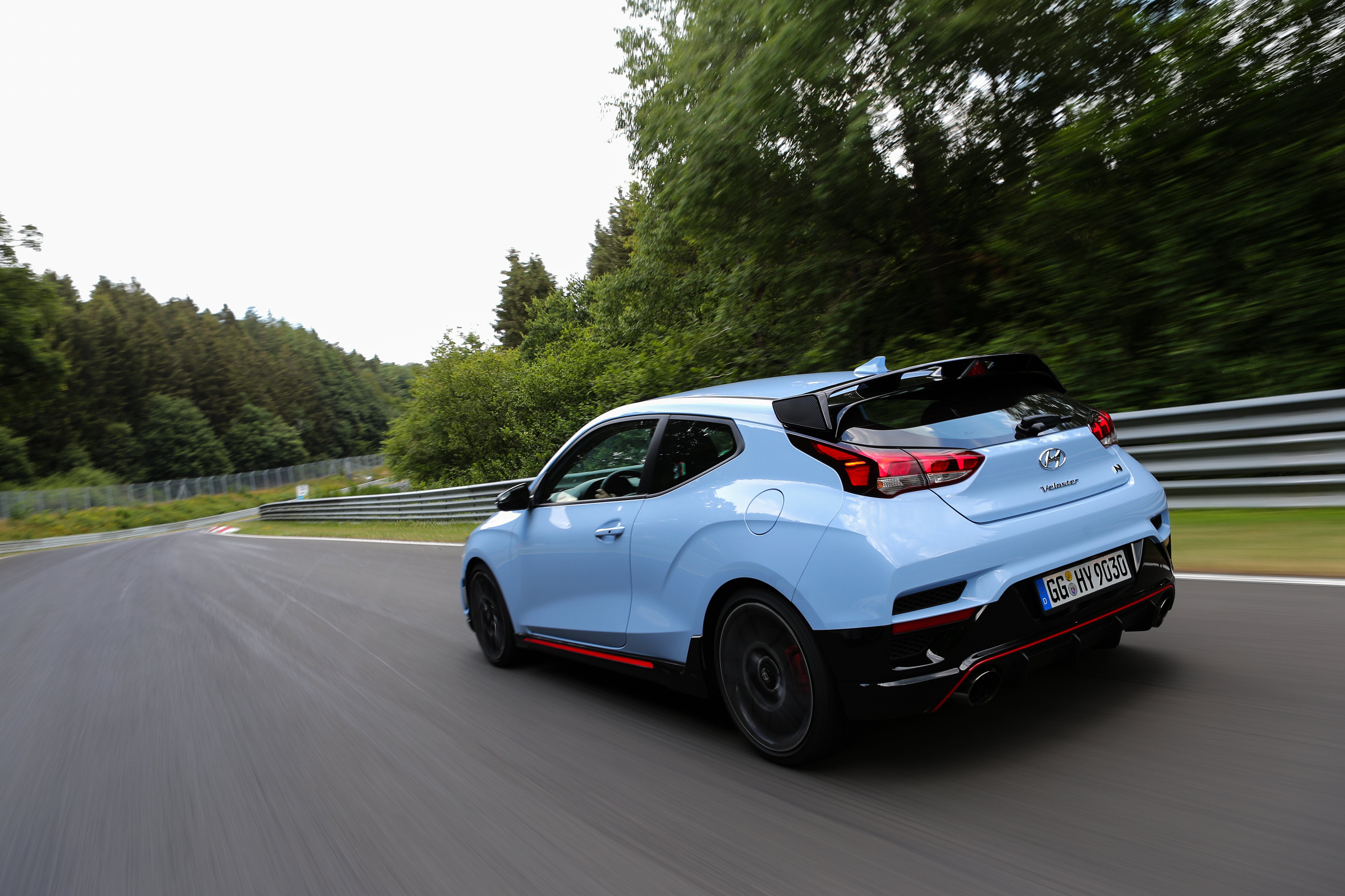 Media Event: Hyundai Veloster N at the Nürburgring