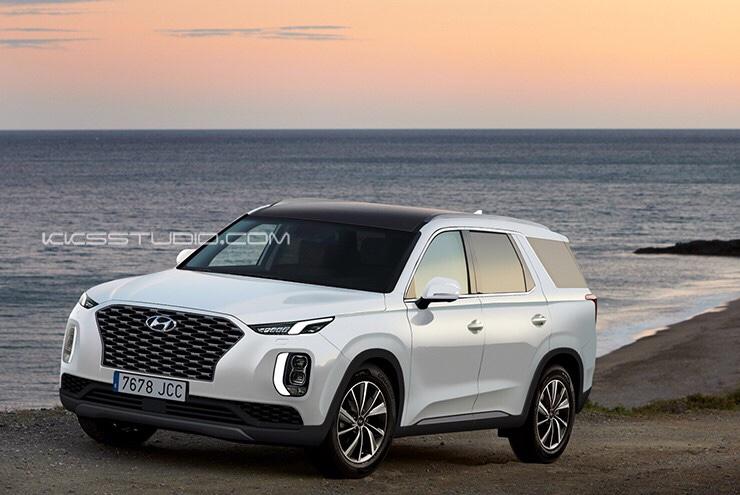 Hyundai Palisade Big SUV Imagined