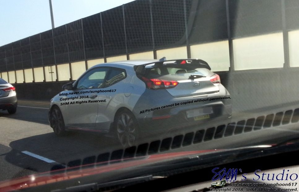 Hyundai Veloster N Test Mule Could be DCT Variant