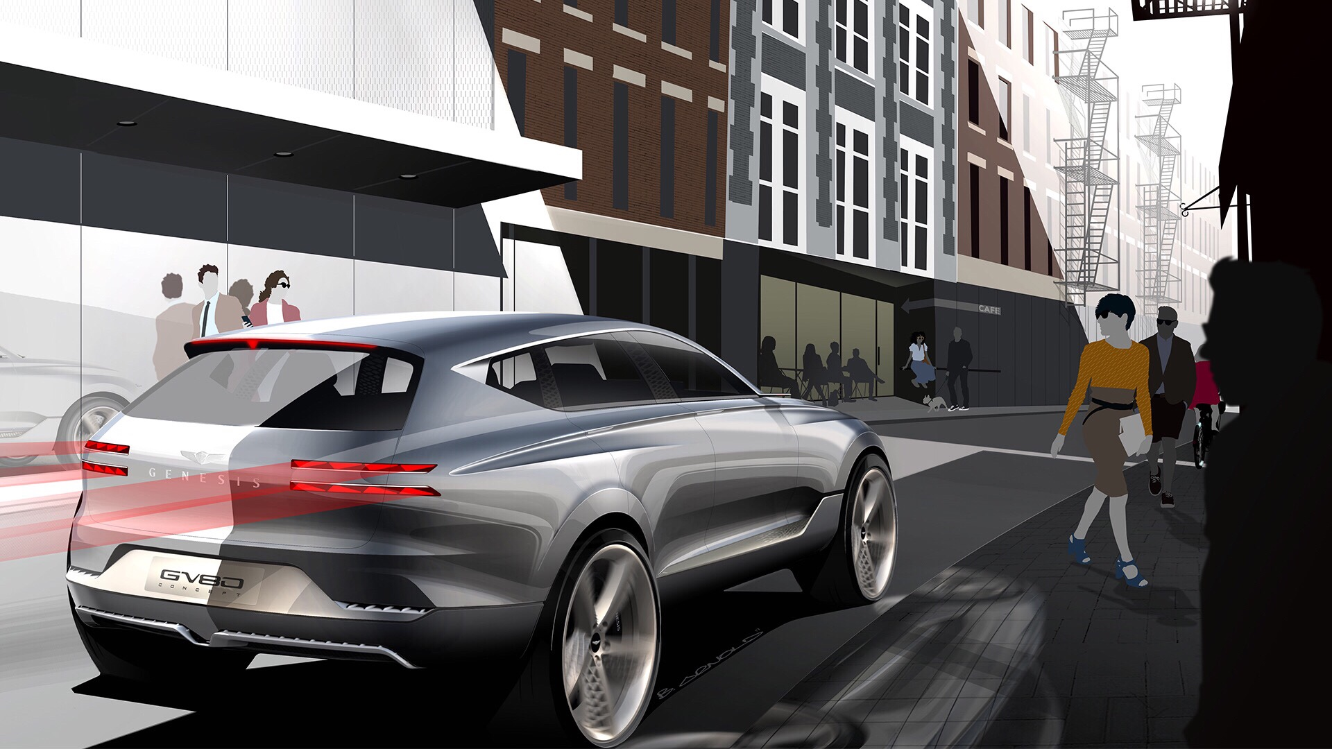 Genesis GV80 SUV To Arrive End of 2019
