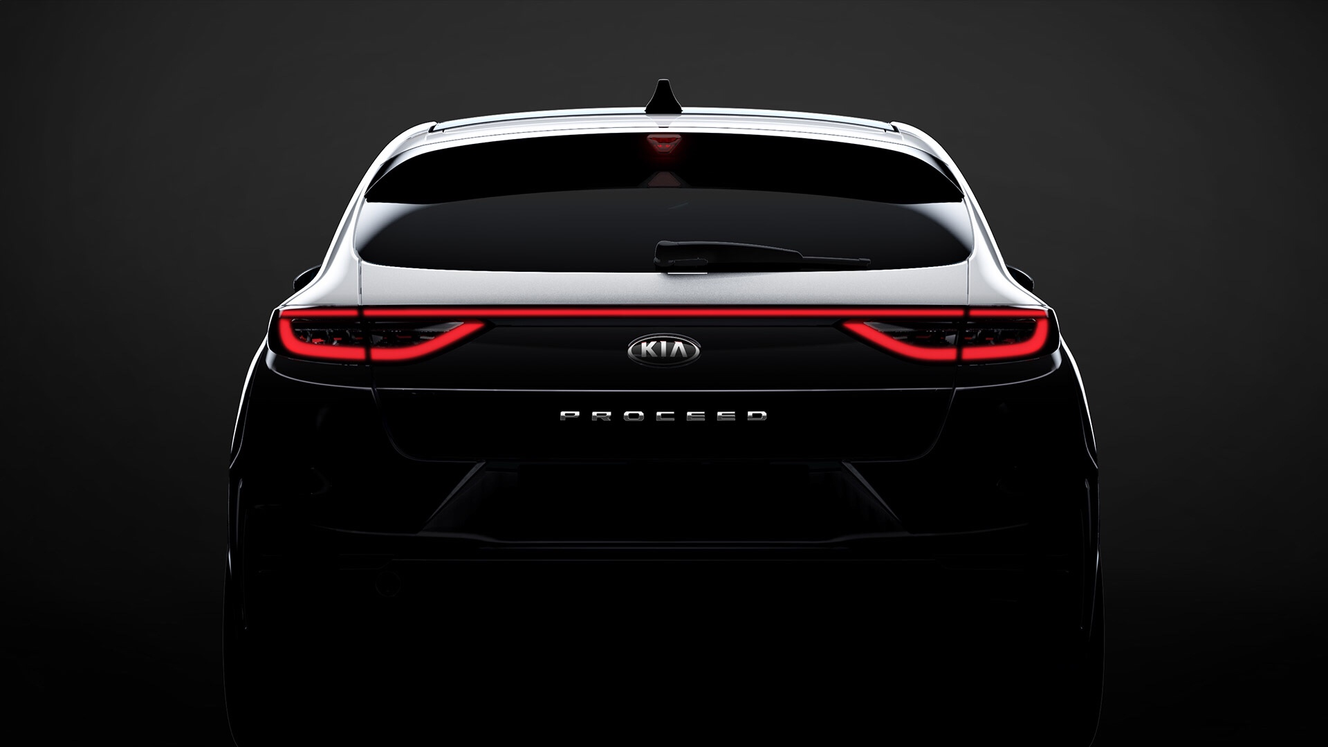 Kia Proceed Shooting Break Teased Ahead Paris Debut