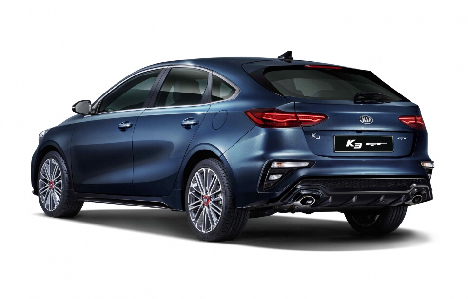 Kia K3 5-door GT Revealed