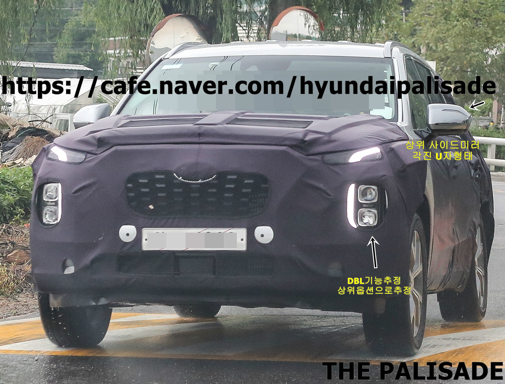 Hyundai Palisade Spied in South Korea
