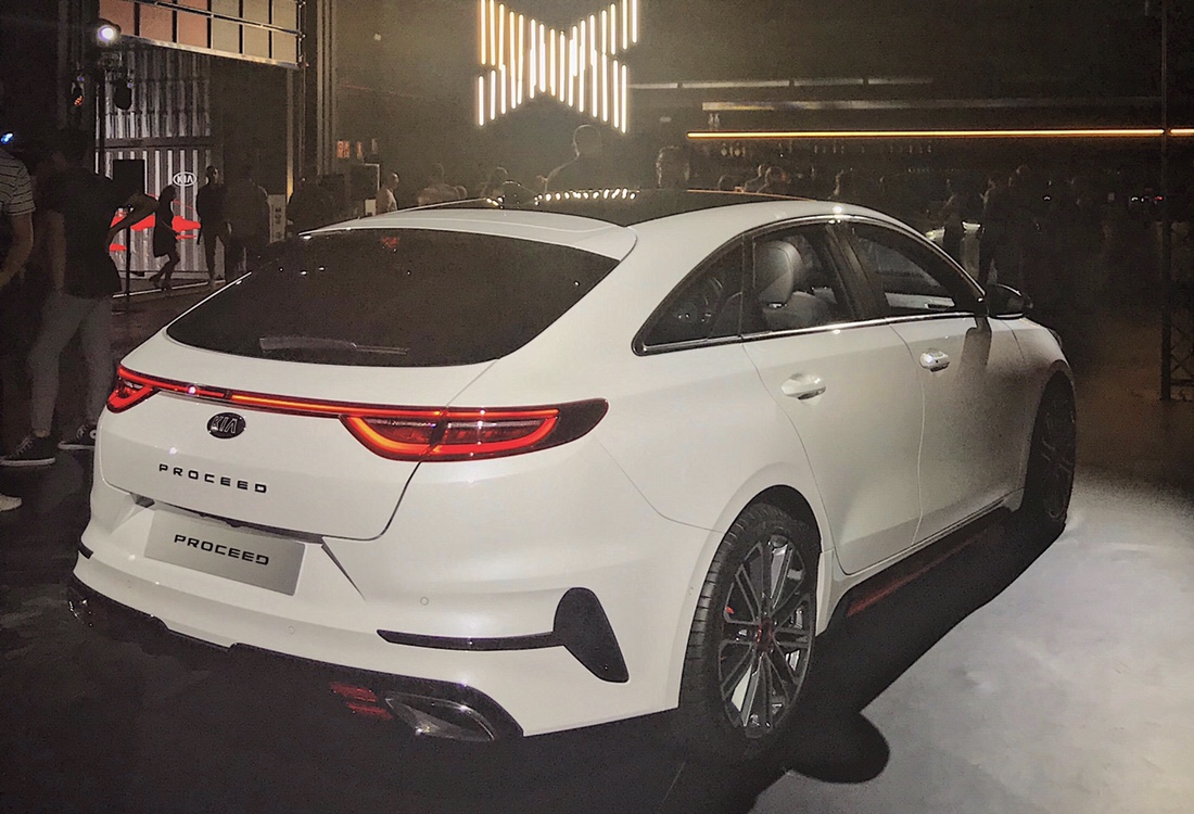Kia Proceed to have GT & GT-line variants only