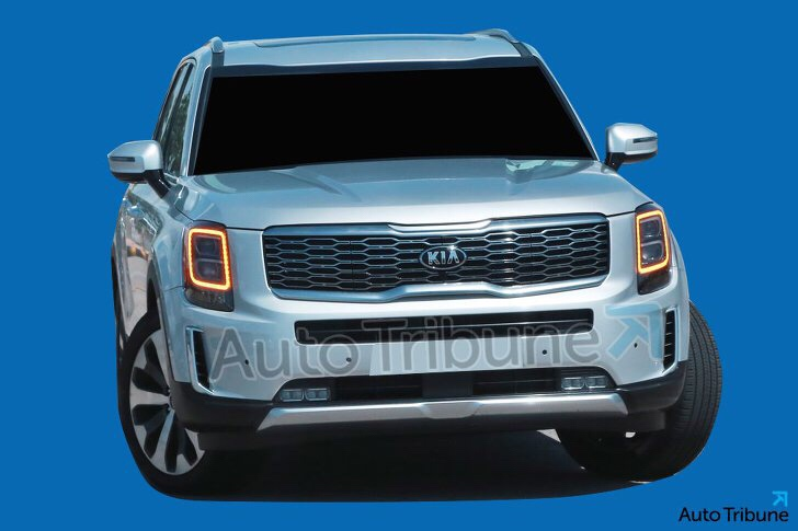Kia Telluride Caught From Every Angle