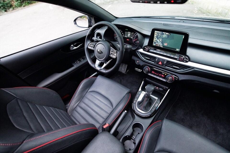 Kia Reveals K3 GT Interior
