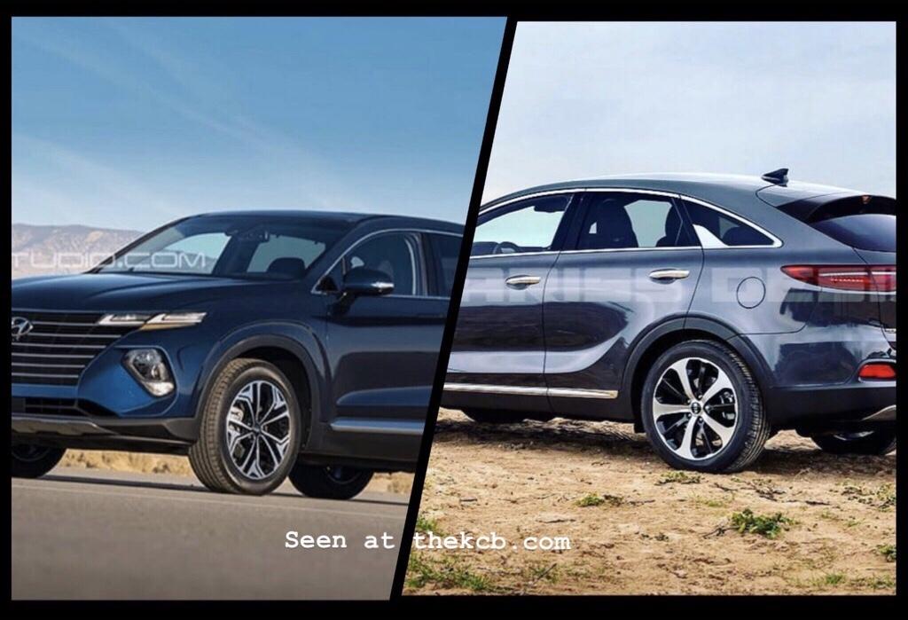SUV Coupe Battle: Hyundai Santa Fe or Kia Sorento?